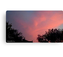 July 2012 Sunset 31 Canvas Print