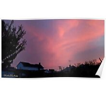 July 2012 Sunset 34 Poster