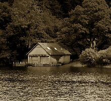 Boathouse by pantherart