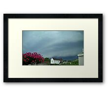 Severe Storm Warning 5 Framed Print