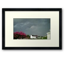 Severe Storm Warning 9 Framed Print