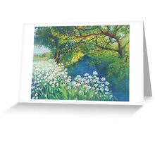 River Cerne, Dorset Greeting Card