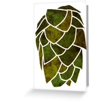 Hop Cone Greeting Card