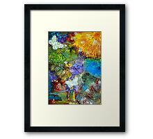 Let Everything with Breath SING- FINAL Framed Print