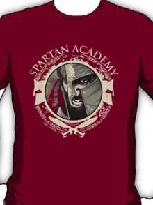 Spartan Academy - Full Color Version T-Shirt