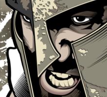 Spartan Academy - Full Color Version Sticker