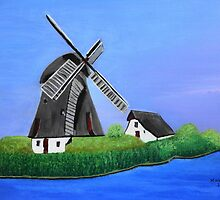 Windmill  by maggie326