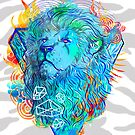 Fire Lion by Liviu Matei