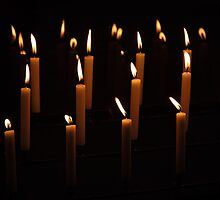 St. Peter's Floating Candles by Robert Kelch, M.D.