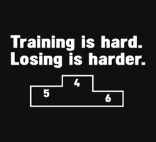Training vs losing by WAMTEES