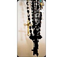 Rosary Beads Photographic Print