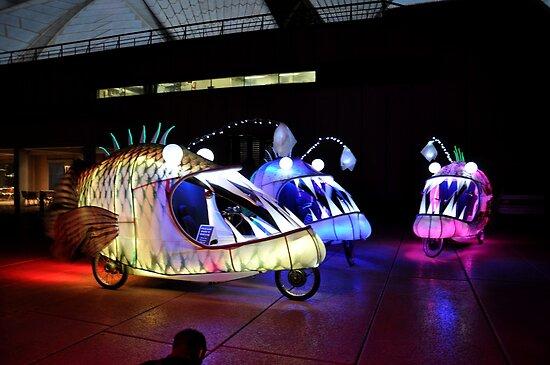 Angry Fish Cycles @ Vivid Festival 2012 by muz2142