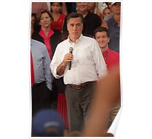 Mitt Romney Abashed Poster