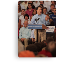 Scott Walker Pronouncing Vowels Canvas Print