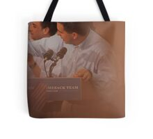 Scott Walkers Bald Spot Tote Bag
