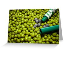 Where's my other green marker? Greeting Card