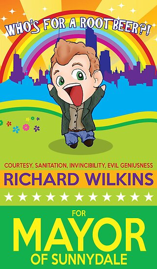 Richard Wilkins for Mayor by ElocinMuse