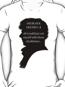 Sherlock's Cheekbones T-Shirt