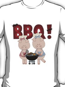 Barbeque Pigs T-Shirt