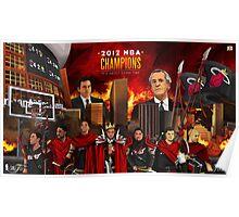 Miami Heat 2012 Championship Poster
