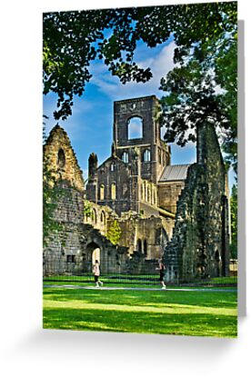 Kirkstall Abbey #3 by Colin Metcalf