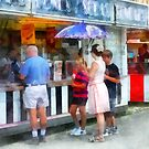 Buying Ice Cream at the Fair by Susan Savad