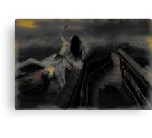 Bridge over troubled water_darker version Canvas Print