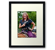 """""""Northern Ohio Outlaws"""" #33 Framed Print"""