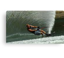 Water Skiing Magic of Water 1 Canvas Print
