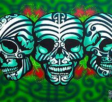 Moko Skulls by skullbrain