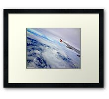 Window seat please... Framed Print