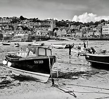 St Ives Harbour 2 ~ Cornwall by Susie Peek