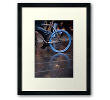 Fixed blue flash ... Framed Print