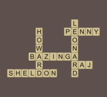 Big Bang Theory Scrabble by Shaun Beresford