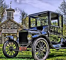 Lutz Franklin School & Model T by djphoto