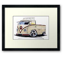 VW Splitty Pick-Up (RB) Framed Print