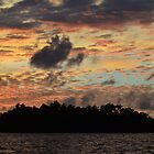 Airai Sunset, Palau by Randy Richards