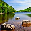 Jordan Pond, Acadia National Park, Maine by fauselr