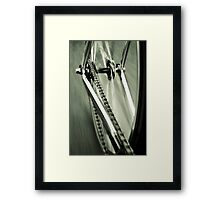 Single Speed at Speed Framed Print