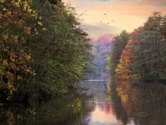 Autumn River by Jessica Jenney