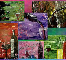 Sensual Wines Collage by markmoore