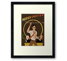 Horcruxes of the Dark Lord Framed Print