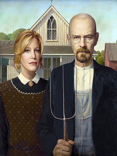 American Gothic Parody by Paul Gitto