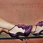 Purple Ruffle by Jennifer Hodney