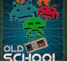 Old School Gamer by ea-photos