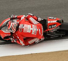 Nicky Hayden at laguna seca 2010 by corsefoto