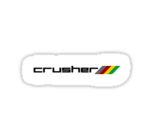 Crusher Sticker