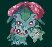 Cute Bulbasaur Line by Frostwraith