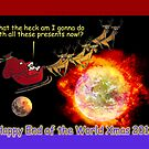 Happy End of the World Xmas 2012 - Santa&#x27;s dilemma 01 by TommyRocket