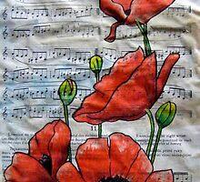 Musical Poppies by Alexandra Felgate